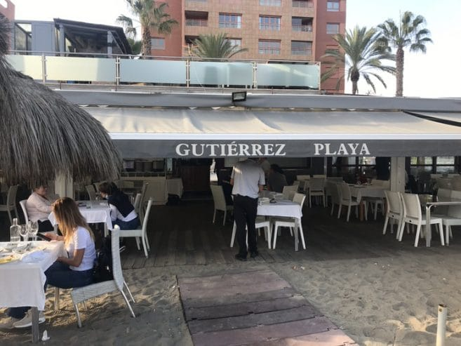 Chiringuito Gutiérrez Playa