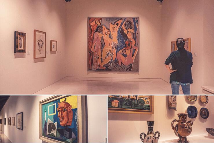 Interior del Museo Picasso