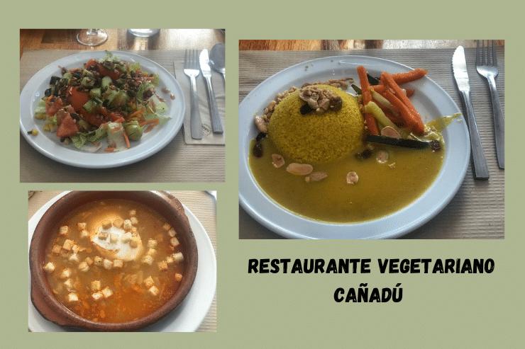 Restaurante vegetariano Cañadú